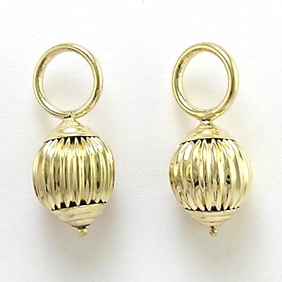 14k Gold Earring Charms 14k Gold Filled Beads