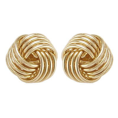 image main knot product in gold stud macy shop fpx love jewelry earrings s