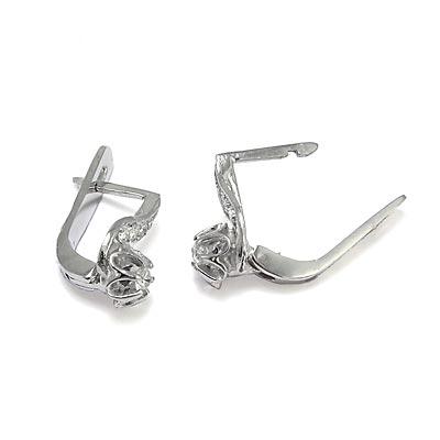 Children S Diamond Earrings Russian Style 14k