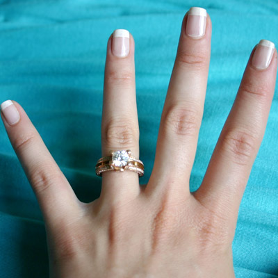 18k Diamond Engagement Ring Engagement Ring 18k