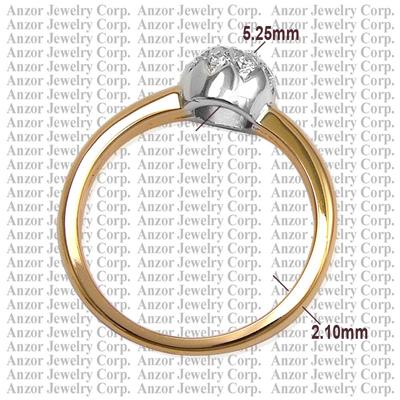 anzor jewelry handmade russian stye jewelry in 14k solid