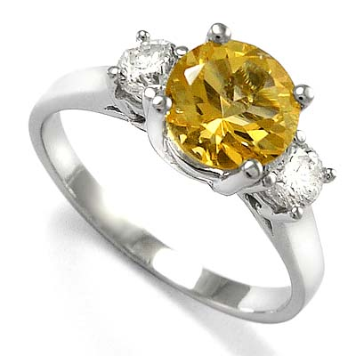 weston diamonds ring citrine diamond c gold products white halo