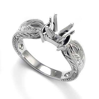 Diamond Wedding Ring Set, Semi-Mount Setting | Jewelry Store
