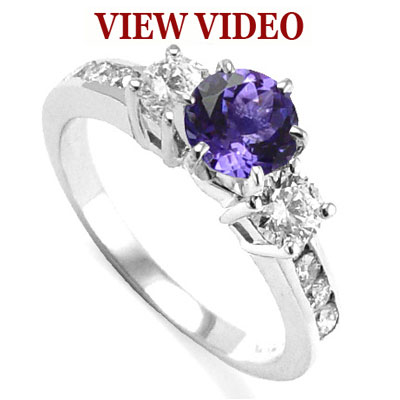 94 curated diamond rings ideas by lemurt1415 | Ruby engagement rings, Tanzanite  engagement ring and Aquamarines
