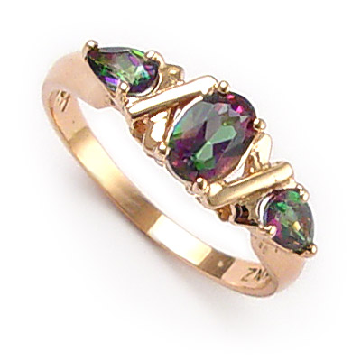 amazon wide dp rings gold mystic natural topaz com halo ring emerald octagon white diamond diamonds carats