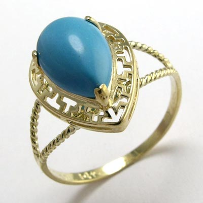 ring turquoise 02804 - Beautiful RINGS 4 girls