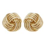 10k Gold Love Knot Studs