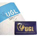 UGL APPRAISAL DIAMOND REPORT CERTIFICATE